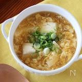豆腐と卵の和風しょうがスープ
