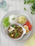 春野菜のキーマカレー