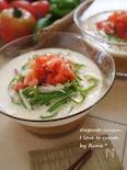 豚肉とピーマンの氷トマトコムタム風素麺