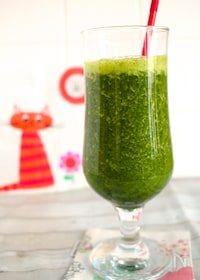 『冷凍緑野菜のスムージー』