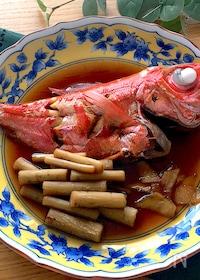 『意外と簡単にできちゃう♡我が家の金目鯛の煮付け』