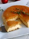 フライパンでチーズケーキ!とろけるチーズアップル