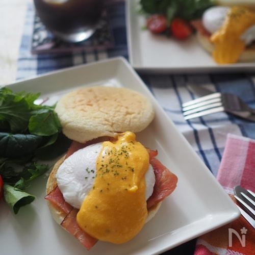 おしゃれな朝食♩エッグベネディクト