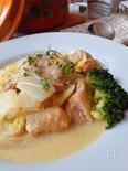 鶏肉と白菜のカレー・クリーム煮