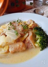 『鶏肉と白菜のカレー・クリーム煮』