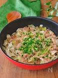 豚バラキャベツの蒸し煮