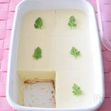 オレンジ風味のレアチーズケーキ 作り置きレシピ 超簡単!