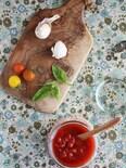 レンジで簡単、本格味なトマトソース♪