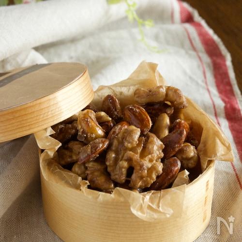 5分おやつメープルナッツ【モバイルおやつ】