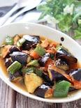 さっぱり和風!冷やしても美味♡夏野菜のおかか麺つゆ生姜炒め