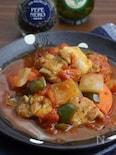 野菜たっぷり♪鶏肉のトマト煮