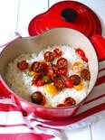セミドライトマトの炊き込みご飯