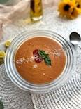 フレッシュトマトと豆乳の冷たいスープ