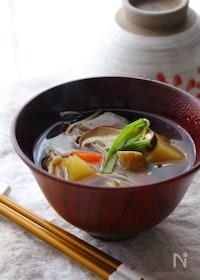 『根菜の味方!圧力鍋で作る具だくさんのけんちん汁』