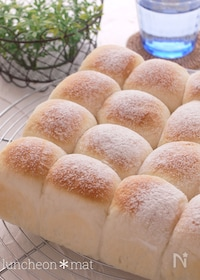 『練乳ミルク♪ちぎりパン♡ふわふわやわらか〜』