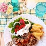 ギロス風焼き肉(ギリシャ風スパイシー焼き肉)