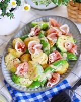 レンジで簡単!春野菜サラダ♡マヨ•バタ•マスタード•ドレ