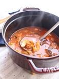 ささみでヘルシー♪野菜ジュースで煮こむ鶏肉のスープ煮