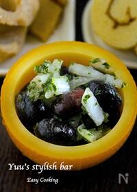 『甘〜い煮豆が苦手な方に♪『黒豆のマリネ』』