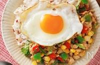 【ナンプラーなし! 】夏野菜のガパオライス