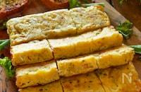 チーズとろけるジャーマンポテトオムレツ