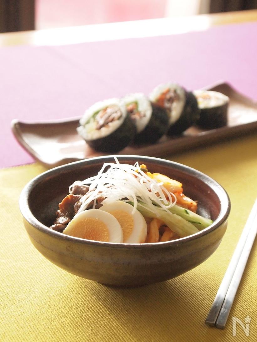 ピビン麺風キムチうどん