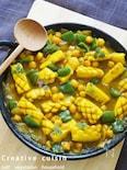 バルメザンでトロリとひよこ豆のサフラン煮