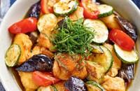 【彩り野菜と鶏むね肉の南蛮漬け】栄養たっぷり満足おかず♬︎
