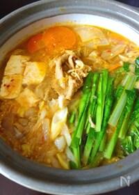 『我が家の定番キムチ鍋』