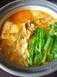 我が家の定番キムチ鍋