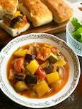 夏野菜ラタトゥイユ!土鍋蓄熱調理で時短(鍋レシピも有)