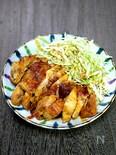 鶏むね肉の甘辛ガーリック焼き