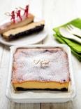 ホーローバットでスパイスチーズケーキ