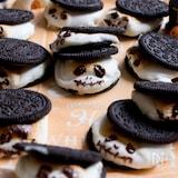 【材料3つ】溶けかけおばけのオレオクッキー