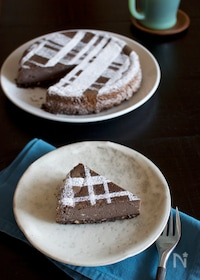 『ココアチーズケーキ』