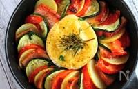 ビストロ風♪ベーコンと夏野菜のお手軽チーズフォンデュ