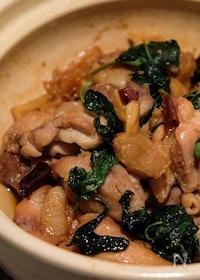 『三杯鶏(サンベイジイ)バジルが香る台湾料理三杯チキン』