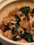 三杯鶏(サンベイジイ)バジルが香る台湾料理三杯チキン
