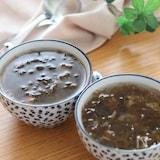チュルンと毎日でも飲みたい♡もずくと梅のさっぱりスープ