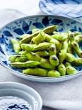 甘味が増す!基本の蒸し焼き枝豆