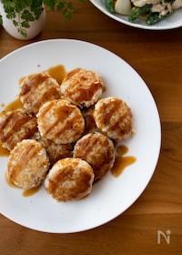 『『たけのこと豆腐のふわふわつくね』#ヘルシー#簡単#お弁当』