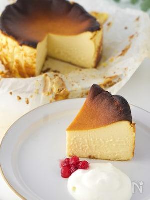 低糖質バスクチーズケーキ
