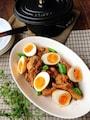 黒酢でとろける柔らかさ♪手羽元のたまり醤油煮[ストウブ調理]