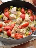 【10分】男子も女子も好き♡鶏肉とセロリのジューシー煮込み