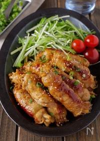 『【ボリューム満点】ご飯が進む肉巻きえのきのさっぱり生姜焼き』
