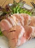 豚ヒレ肉のオイル蒸し