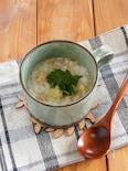 マグカップで作る簡単鶏がゆ