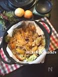 ジューシー♪お肉と野旨味たっぷりキャベツと豚肉の塩レモン蒸し