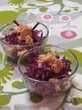 紫キャベツとツナのサラダ