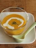 カボチャの冷製スープ